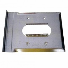 Pair of fixed side plate with guide mouth